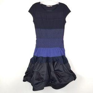 Marithe Francois Girbaud 5 Blue/Black Color Block